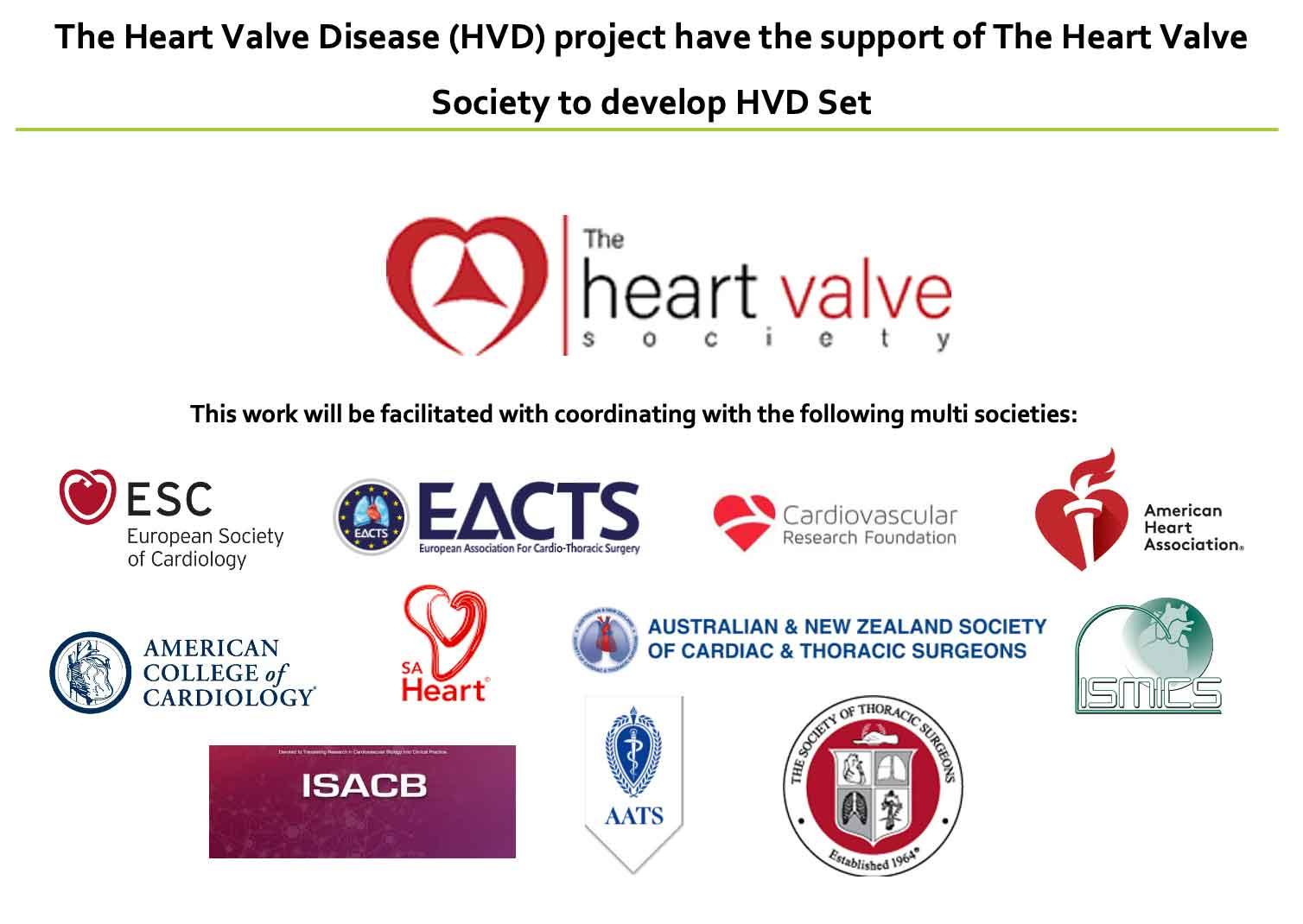 ICHOM Standard Sets Heart Valve Disease Heart Valve Society