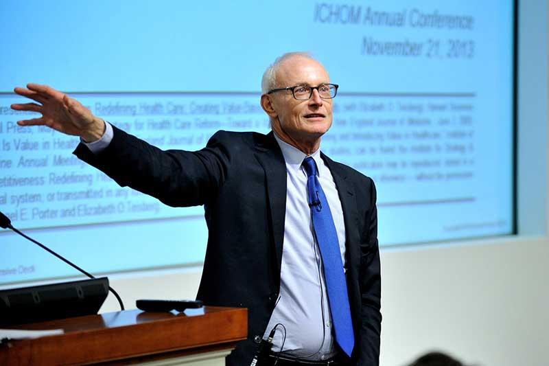 ICHOM Mission Professor Michael Porter